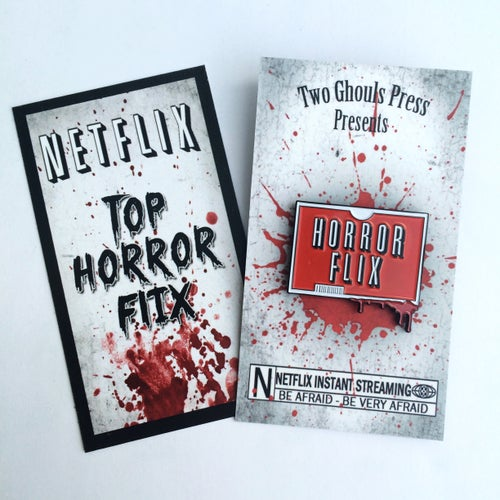 Image of Horror Flix - Lapel Pin
