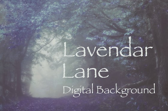 Image of Lavender Lane Digital Background