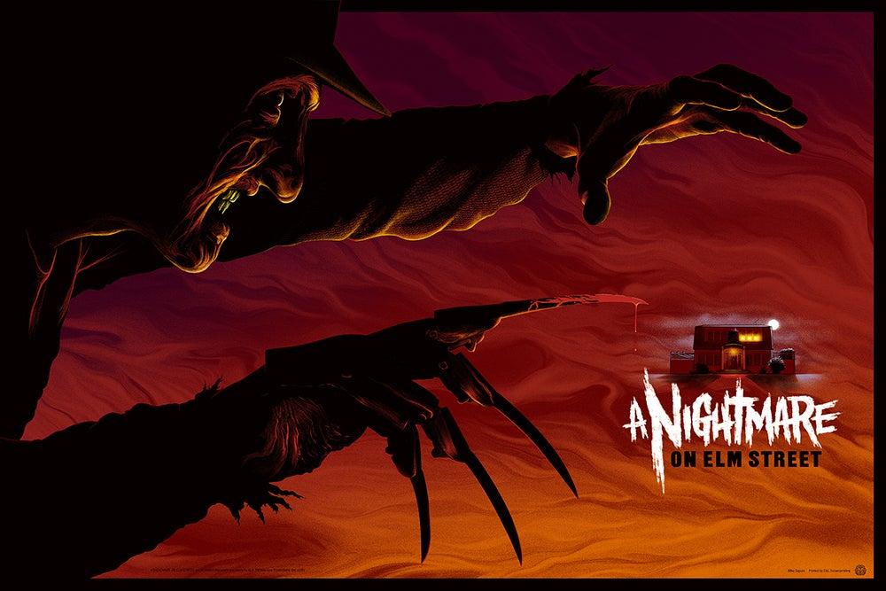 Image of Nightmare on Elm Street Screenprint