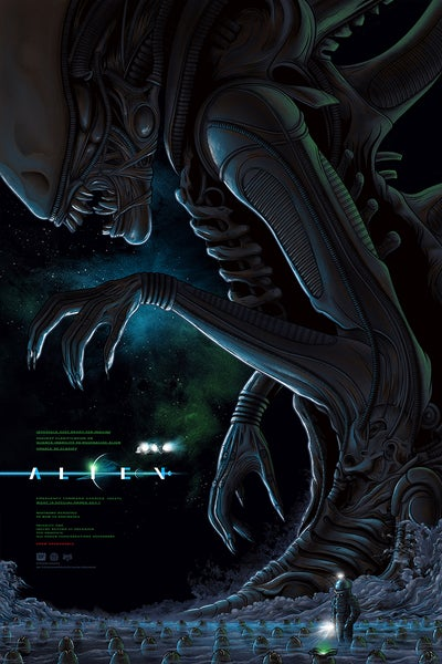 Image of Alien Screenprint