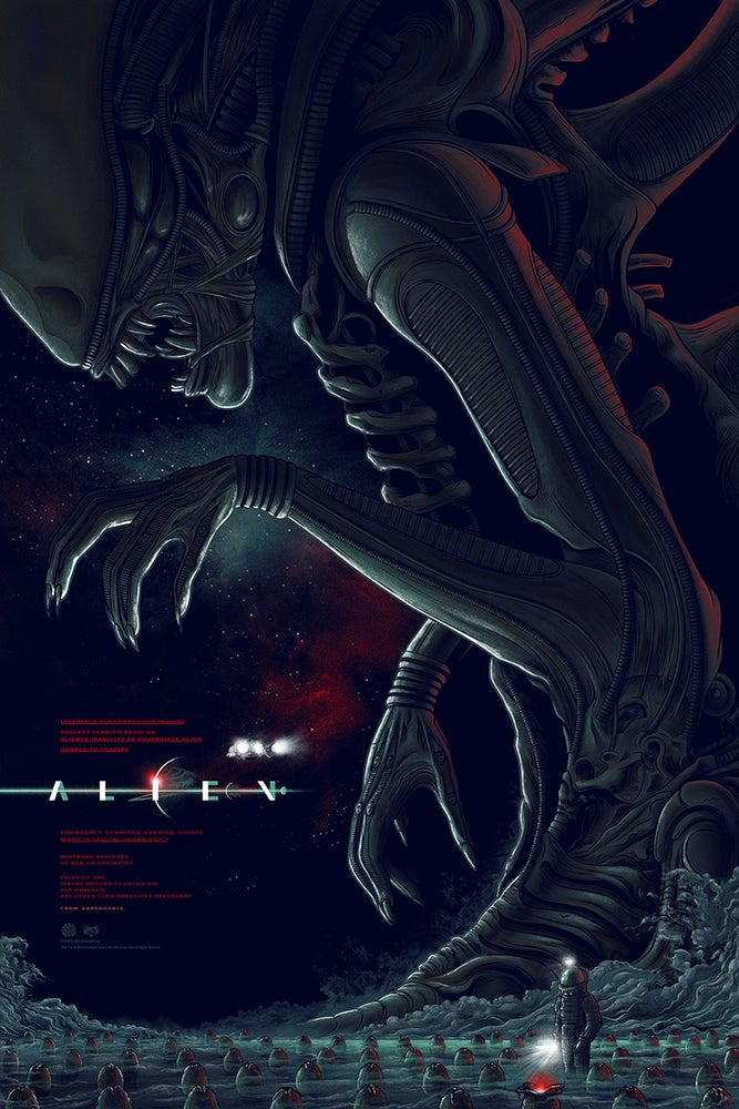 Image of Alien Variant Screenprint