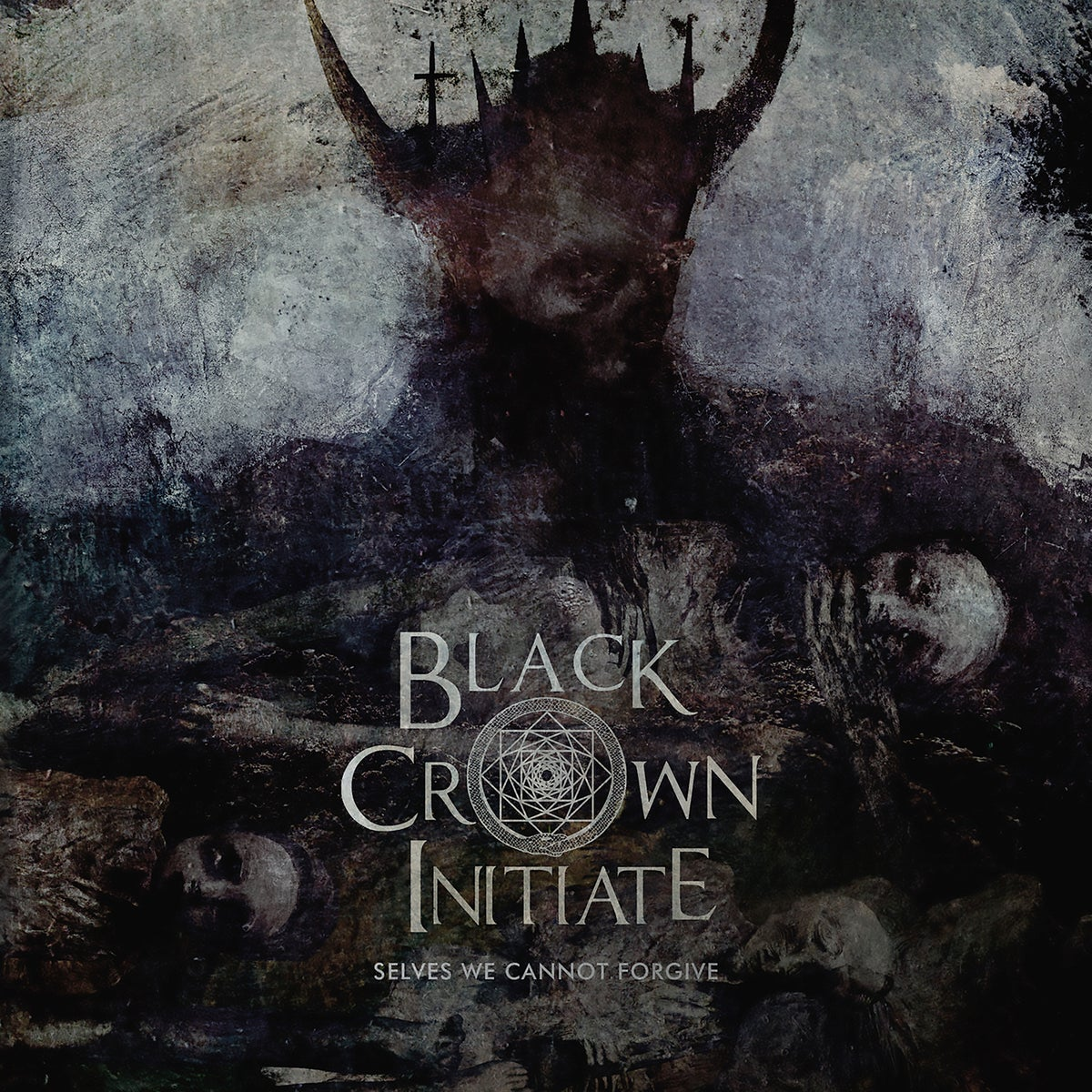 "Image of Black Crown Initiate ""Selves We Cannot Forgive"" CD"