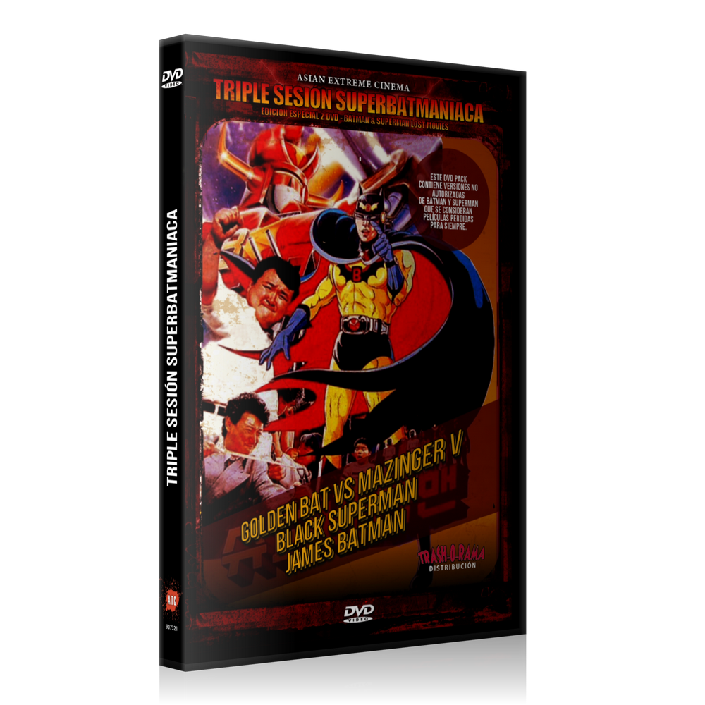 Image of Triple Sesión Super-Batmaníaca (2 DVD)