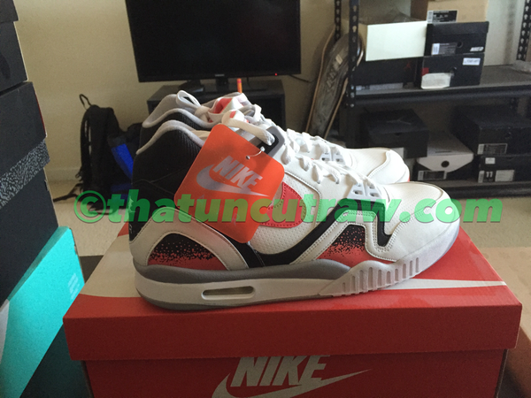"Image of nike air tech challenge ii ""hot lava"", ds"