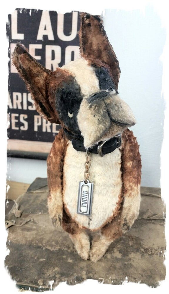 "Image of FOUND the Boxer Dog ~ 8"" size -Frumpy Pup *  Whendi's Bears"