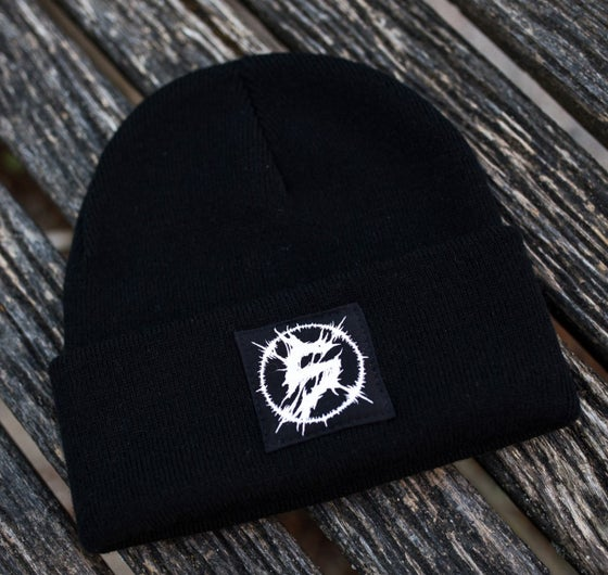 Image of Slaveyard Beanie Black