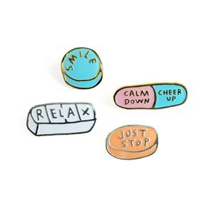 Image of Honest Meds Pin Set