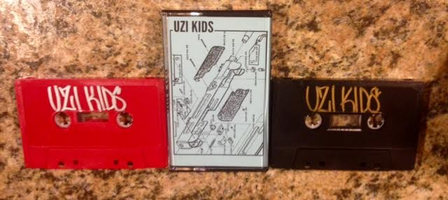 "Image of Uzi Kids ""Live at WLFR"" Tape"