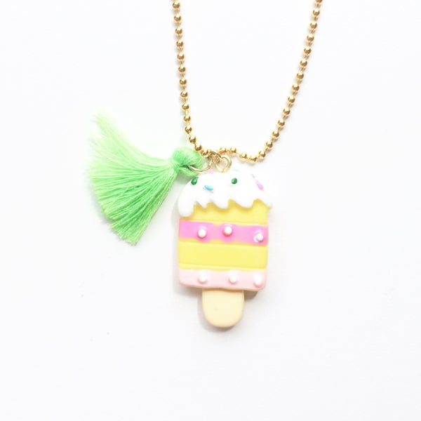Image of Popsicle Charm Necklace