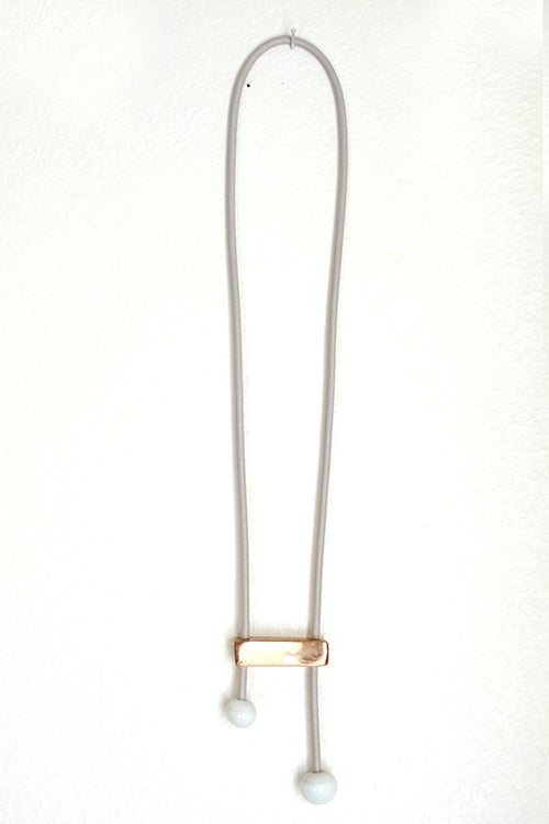Image of note necklace