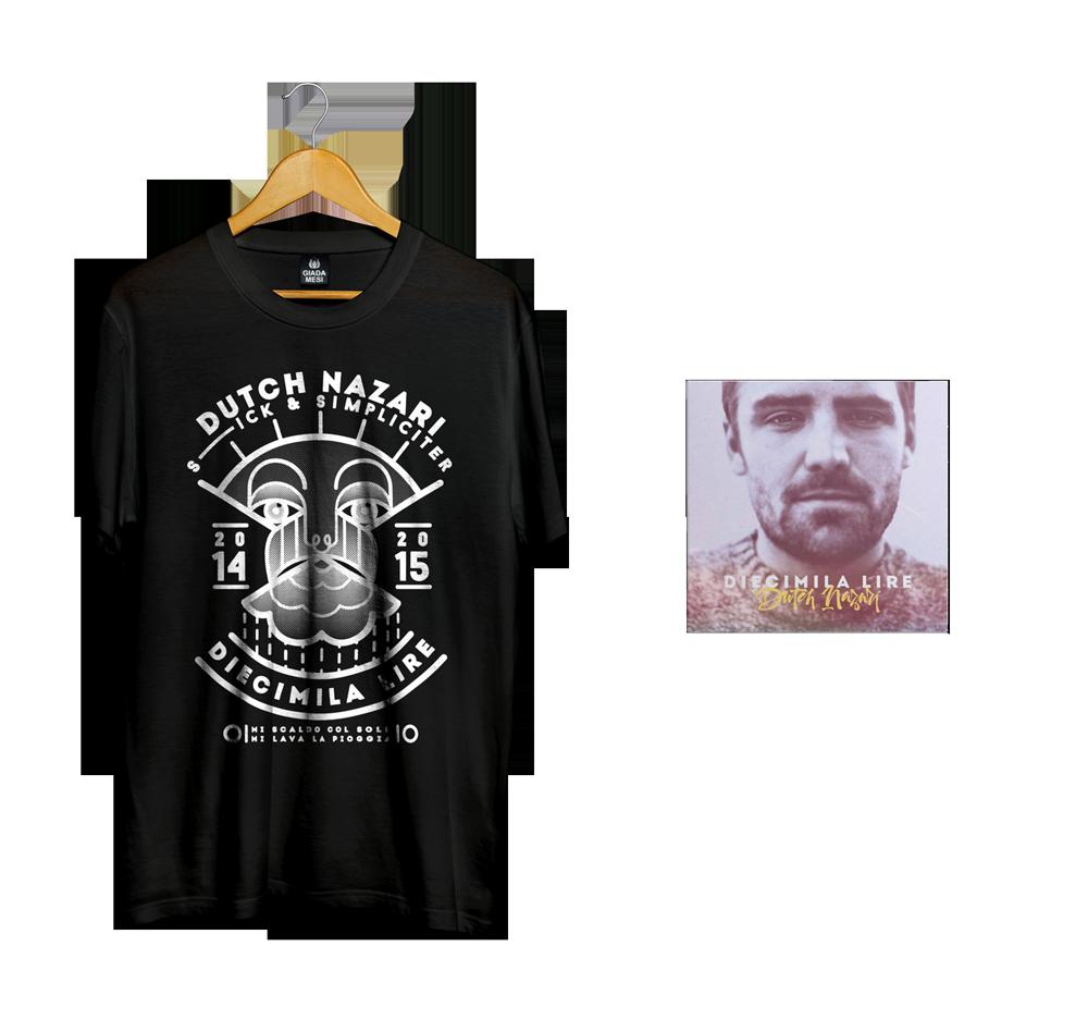 Image of BUNDLE   EP Diecimila Lire + T-shirt Diecimila Lire