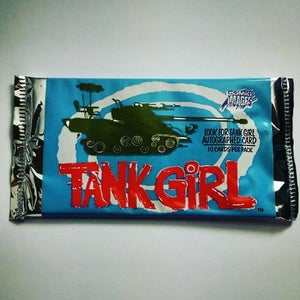 Image of Tank Girl Movie Trade Card Pack