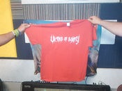 Image of newest RED NEW LOGO T SHIRT