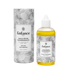 Image of 100% Natural Dry Nourrishing Oil - 100ml in its reusable cylindrical case