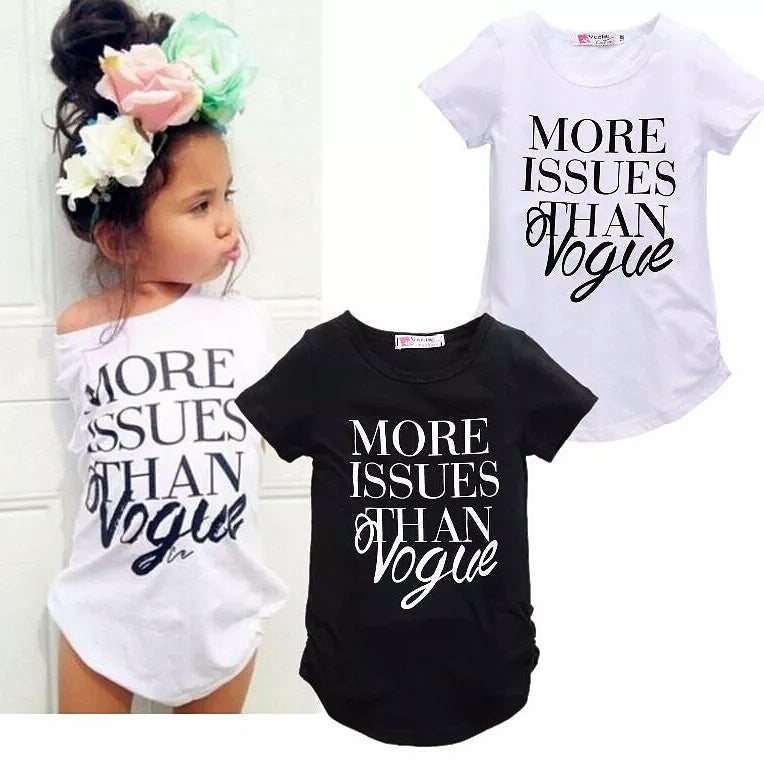 Image of More Issues Than Vogue Tshirt