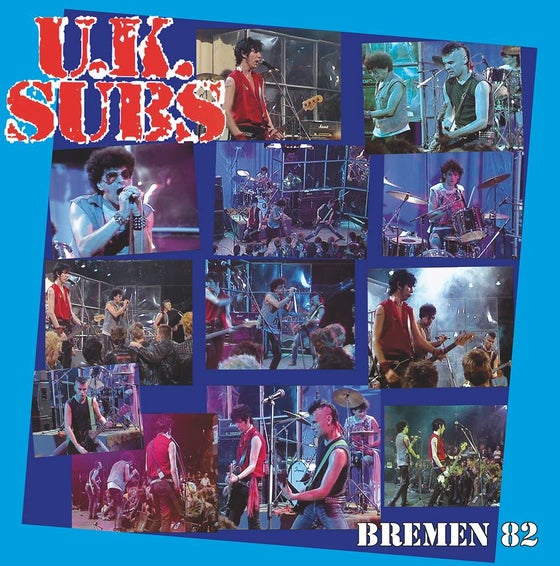 Image of UK SUBS, LP, Live in Bremen