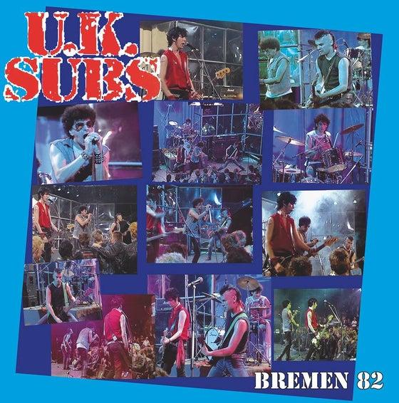 Image of UK SUBS, LP, Live in Bremen