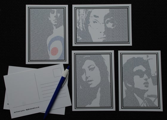 Image of *NEW* Postcard Packs