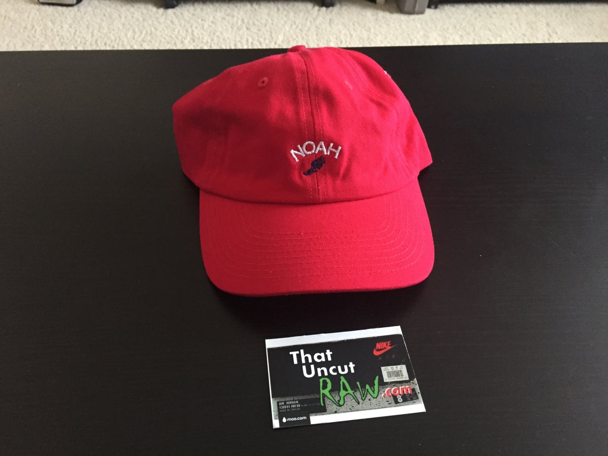 "Image of noah ""winged logo"" 6-panel hat, new"