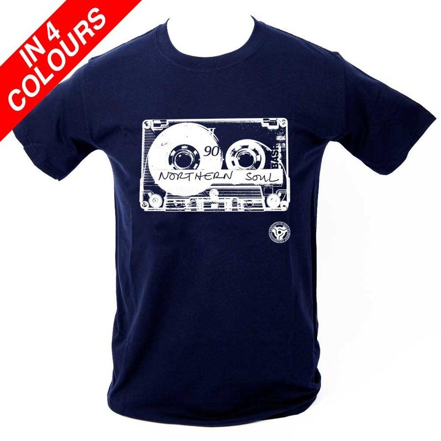 Image of 'Northern Soul Retro Cassette' T Shirt.