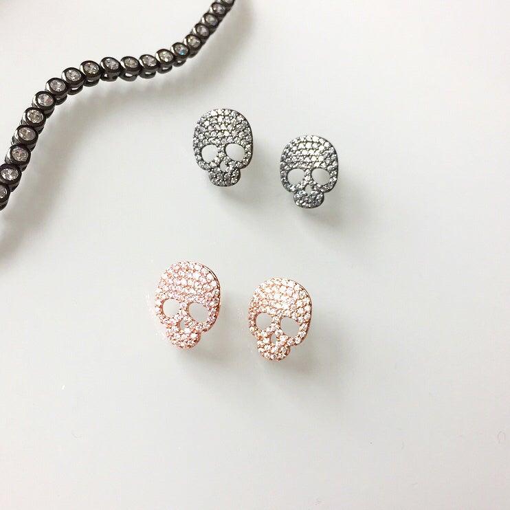 Image of Skull Earrings