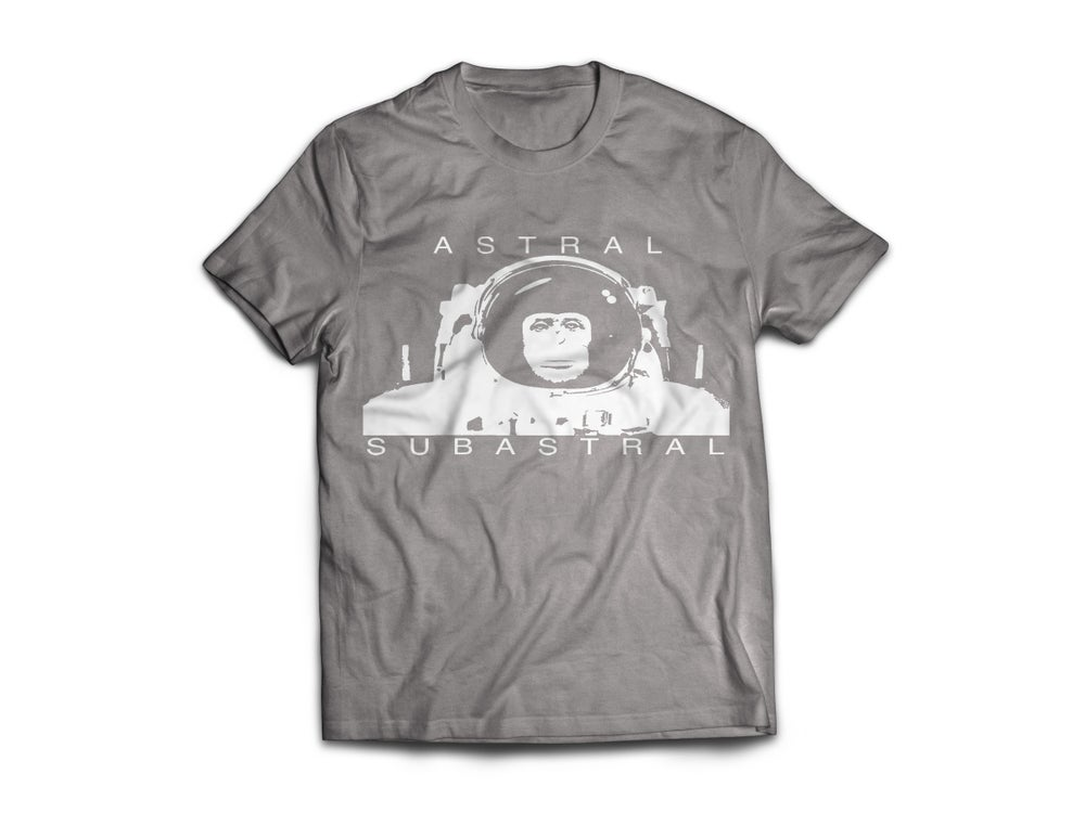 Image of Gray Space Monkey T-Shirt