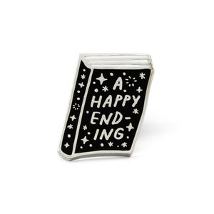 Image of HAPPY ENDING Enamel Pin