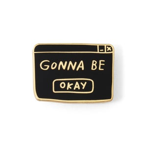 Image of OKAY Enamel Pin