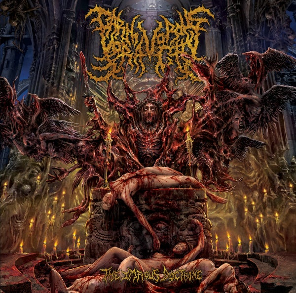 Image of CARNIVOROUS VORACITY - The Impious Doctrine [Slipcase]-CD