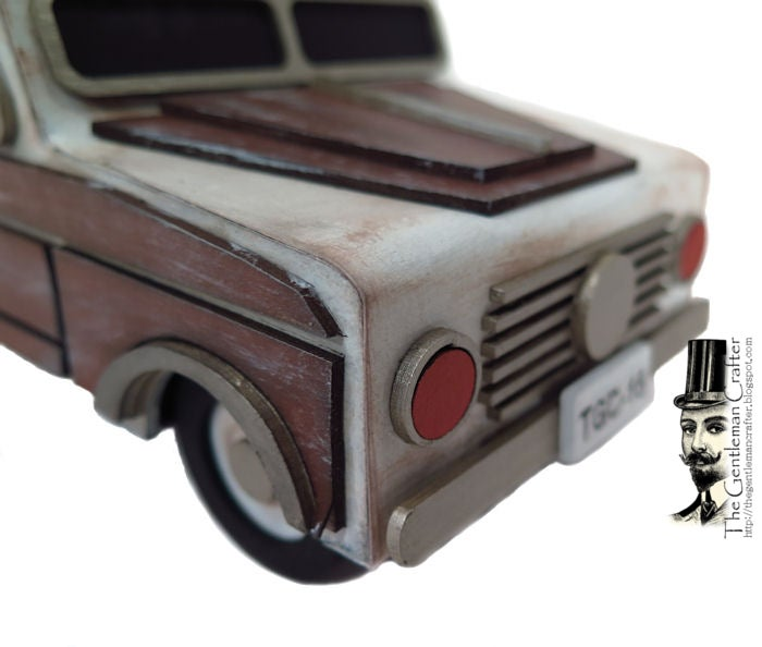 Image of The Woody Station Wagon Kit -Instant Download With .SVG Files