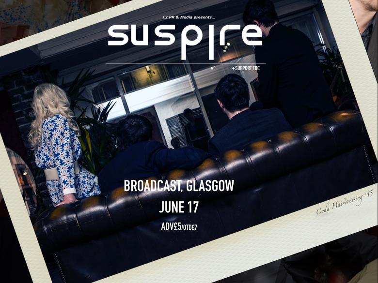 Image of Suspire @ Broadcast, Glasgow 17/06/2016
