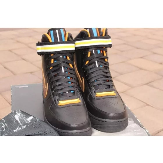 Image of Nike x Riccardo Tisci AF1 High Black Size 6