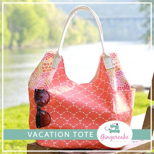 Image of NEW!!  Vacation Tote Sewing Pattern