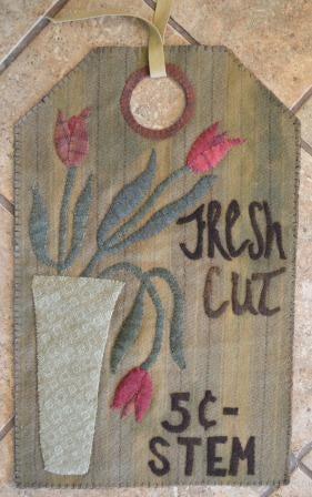 Image of Fresh Cut Stems- Vintage Tag Series