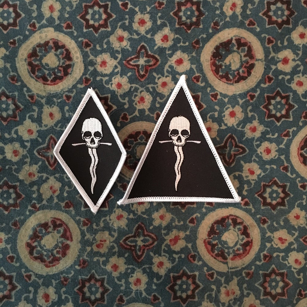 Image of Sweat Lodge Logo Diamond or Triangle Patch