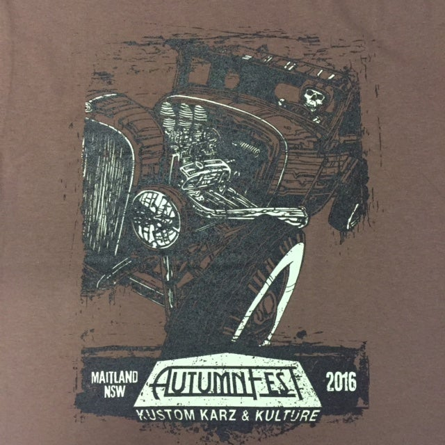 Image of AutumnFest Guys T-Shirt Brown