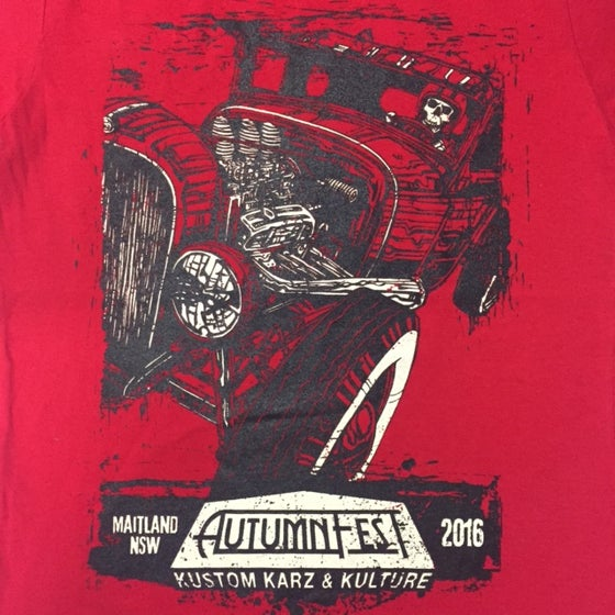 Image of AutumnFest Ladies T-Shirt Red