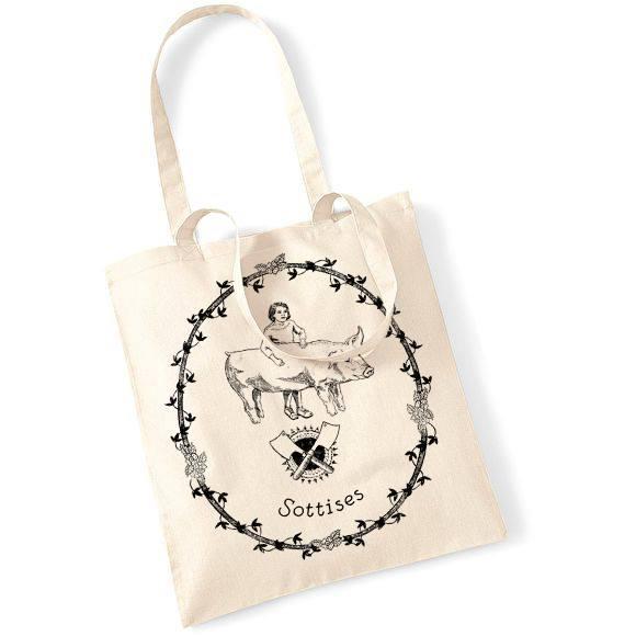 Image of Tote bag sérigraphié Chloé Fournier & Sottises