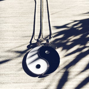 Image of Yin Yang Necklace Set