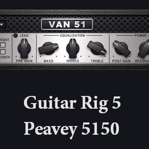 Image of Guitar Rig 5 Metal Preset - 5150 Tone