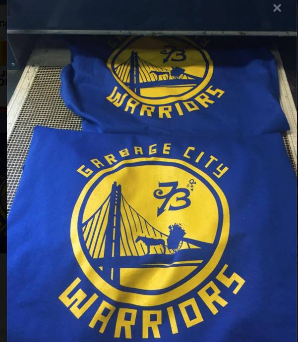 Image of GARBAGE CITY WARRIORS T-SHIRT