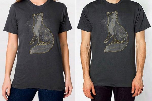 Image of Sky Fox Unisex T-Shirt