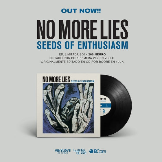 "Image of LADV67 - NO MORE LIES ""seeds of enthusiasm"" 12"" REISSUE"
