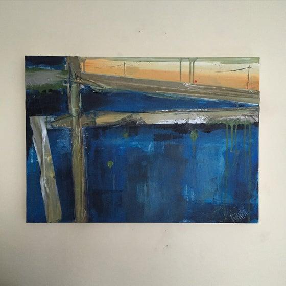 Image of SHELTER #3 - Acrylic on canvas, 60 x 40cms
