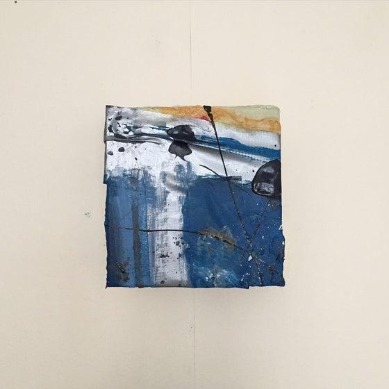 Image of SHELTER #7  - Acrylic on canvas, 10 x 10cms