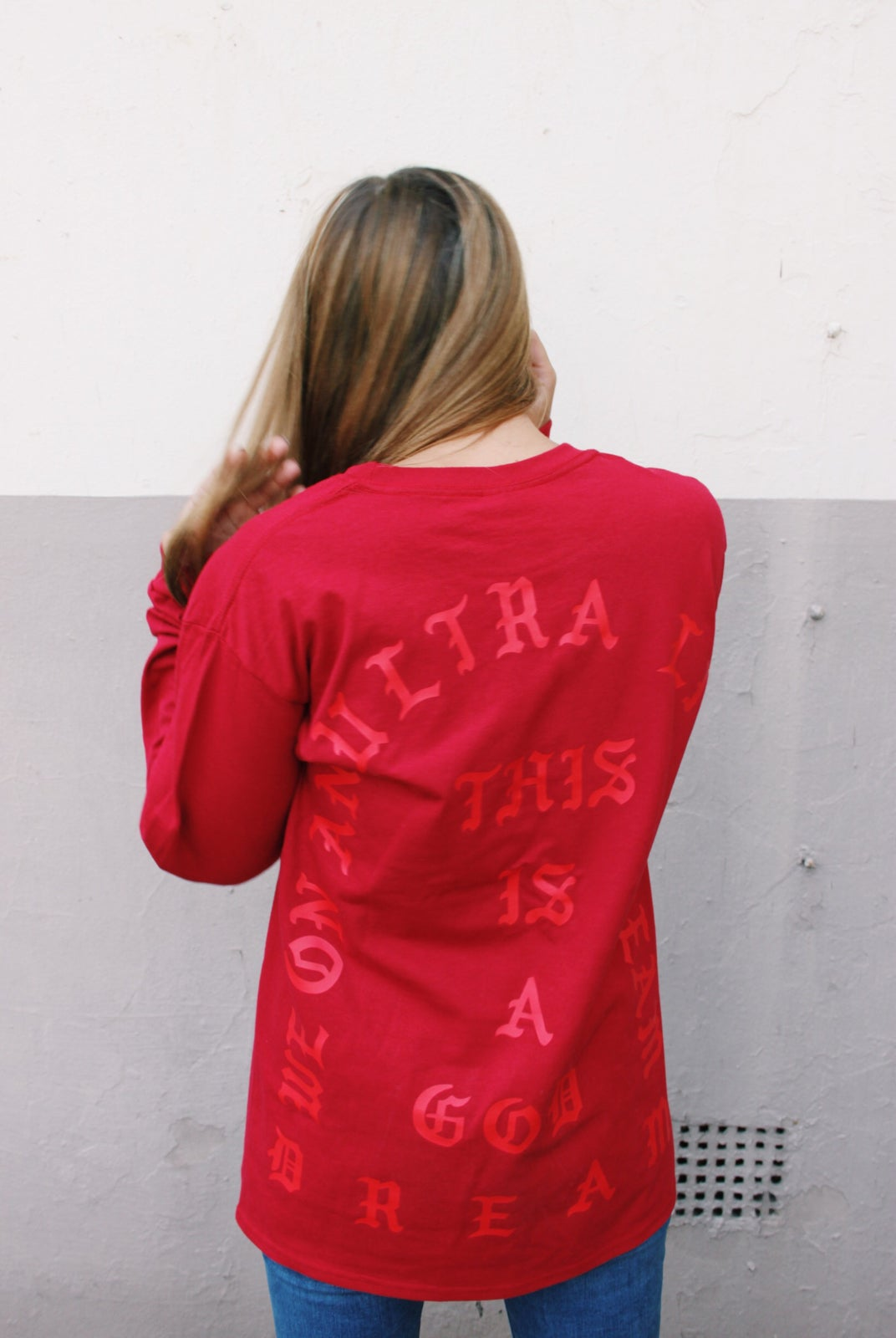 Image of Pablo Long Sleeve T Red - was £̶2̶7̶.̶9̶9̶ now £22.99