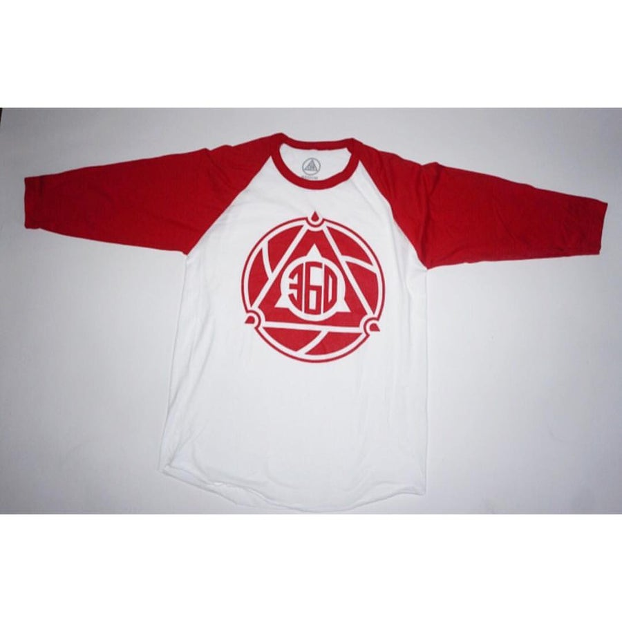 Image of MODO 360 TEE / WHITE & RED