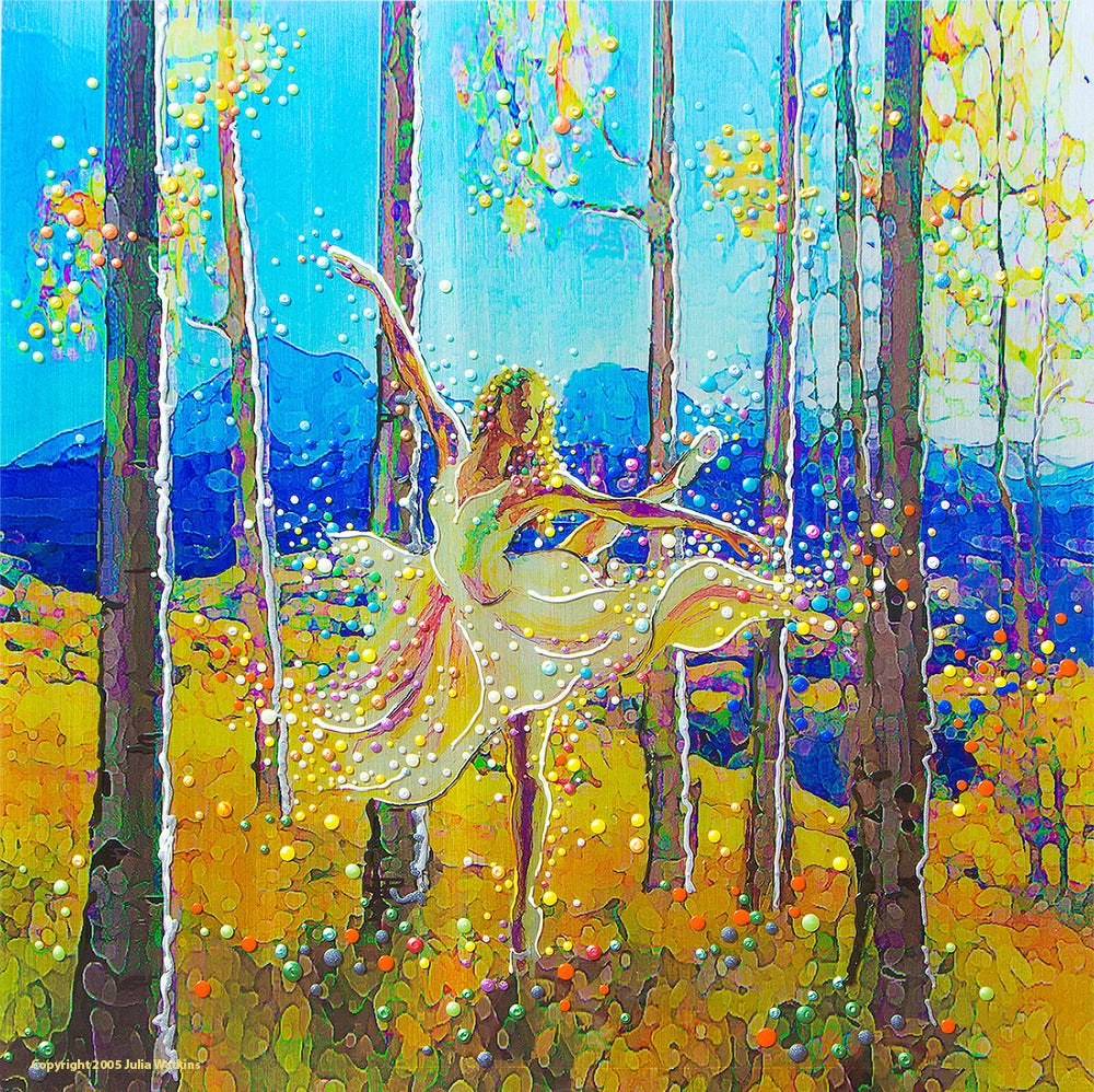 Image of Aspen Dancer - Spirit Of The Trees - Giclee Print