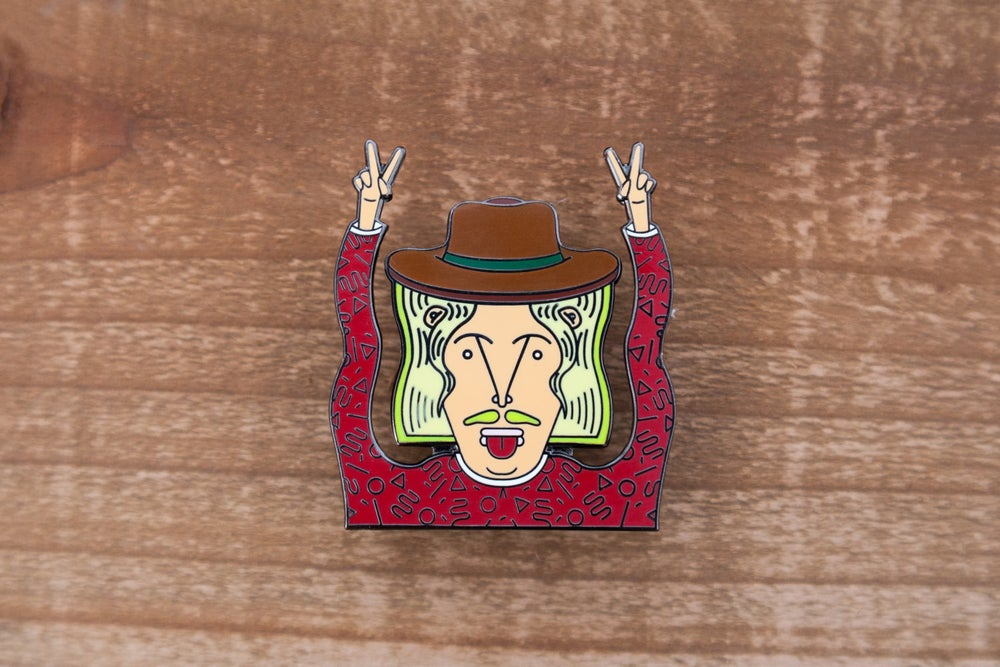 Image of Gibby Peace Pin