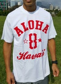 Image of Aloha 8 (white/red)